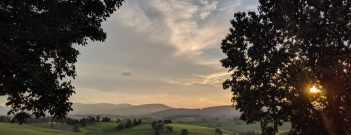an image of landscape in Orange County, VA