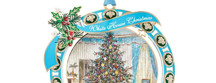 official white house 2021 Christmas ornament